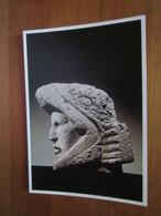 Tete De Guerrier Aigle. Museo Nacional De Antropologia, Mexico. Exposition Art Precolombien - Grand Palais, 1990 - Mexico