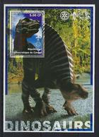 "Congo Bloc YT ??? "" Dinosaure, Rotary "" 2002 Neuf** - Congo - Brazzaville"