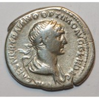 98 - 117 - TRAJAN - DENIER - ARGENT - 3.2 GR - TRES TRES BEAU - 3. The Anthonines (96 AD To 192 AD)