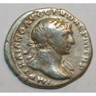 98 - 117 - TRAJAN - DENIER - ARGENT - 2.8 GR - TRES TRES BEAU - 3. The Anthonines (96 AD To 192 AD)