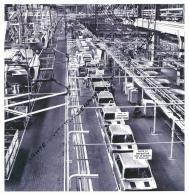 Automobile : Simca 1000, Chaîne De Montage De L'usine De Poissy (Yvelines) - Non Classés