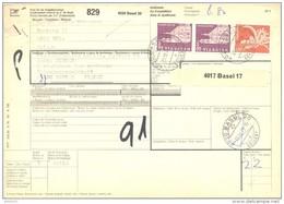 Bulletin D'Expédition - Schweiz / Suisse - Cachet Basel - 1979 - Affranchissement 8.8 Fr - - Brieven En Documenten