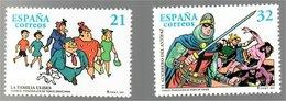 España Personajes De Tebeo 1997 La Familia Ulises El Guerrero Del Antifaz - Volledige Vellen