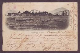 1900s Used Undivided Back Postcard Showing Podgoritza Montenegro Podgorica - Montenegro