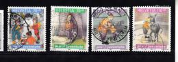 Zwitserland 1999 Mi Nr 1701 - 1704 Kinderboeken En Kinderdromen - Zwitserland