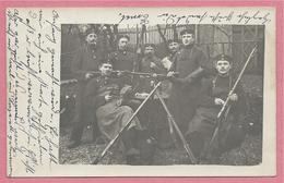Allemagne - SIEGEN - Carte Photo - Foto - Soldats Allemands - Feldpost - Guerre 14/18 - 3 Scans - Siegen