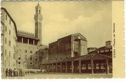 SIENA PIAZZA DEL MERCATO - Siena