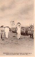 BRAZZAVILLE (CONGO ).ARRIVEE DU GENERAL DE GAULLE.FRANCE LIBRE.TIMBRE SURCHARGE 24 OCTOBRE 1940.achat Immédiat - Brazzaville