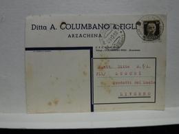 ARZACHENA  -- SASSARI  --- DITTA A- COLUMBANO & FIGLI - Sassari