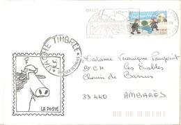 Meilleurs Voeux   -   Cholet 05.01.02 - Storia Postale