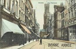 BRUGES-BRUGGE - Rue Flamande - Oblitération De 1907 - Brugge