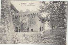 84 Ansouis   Porte Fortifiee Du Chateau - Ansouis