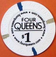 $1 Casino Chip. Four Queens, Las Vegas, NV. E41. - Casino