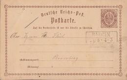 DR Ganzsache R2 Barcin 27.3. - Briefe U. Dokumente