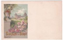TOURAINE Et BERRY - Chateau De Valencay (illustrateur Hugo D'Alesi) - France