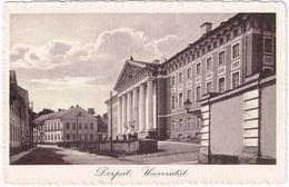 DORPAT - TARTU 1910 Universität - Estonie
