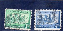YOUGOSLAVIE 1937 O - 1931-1941 Royaume De Yougoslavie