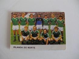 Football Futebol World Cup México 86 Nothern Ireland Team Portugal Portuguese Pocket Calendar 1986 - Calendars