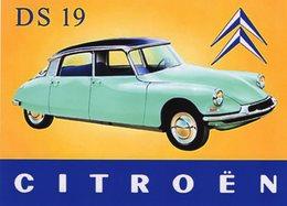 Citroen DS 19  -  Publicité  -  15x10 PHOTO - Turismo