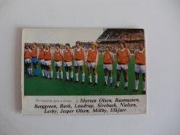 Football Futebol World Cup México 86 Danmark Team Portugal Portuguese Pocket Calendar 1986 - Calendars