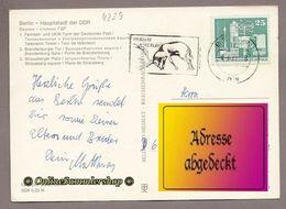 BRD -  AK:  Berlin Bei Nacht / MWSt: Tierpark Berlin - Hirsch - Wild