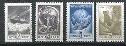 Russie **  N° 5122 à 5125 - Zoibeline, Brise Glace, Enfant, Globe Terrestre - 1923-1991 URSS