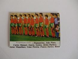 Football Futebol World Cup México 86 Portugal Team Portugal Portuguese Pocket Calendar 1986 - Calendars