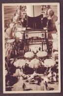 1950s Unused Italy Postcard Showing M.V. Augustus S.S. Roma Il Ponte Degli Sports Italia Cartolina Navigazione Italiana - Altri
