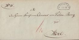 Preussen Brief Nierenstempel Arnsberg 19.6.(1838) Gel. Nach Werl Mit Inhalt - Preussen