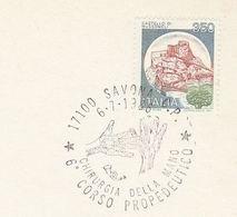 1986 Savona HAND SURGERY COURSE Event COVER Italy Stamps Medicine Health Card - Medicina