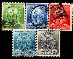 Peru-0040 - Emissione 1896-99 (o) Usato - Senza Difetti Occulti. - Peru