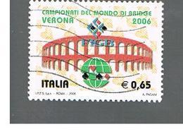 ITALIA REPUBBLICA  -  2006  BRIDGE  - USATO ° - 2001-10: Afgestempeld