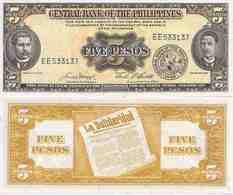 Philippines  P-135e  5 Pesos   UNC - Philippines