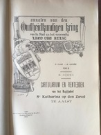 AALST - Cartularium En Renteboek Van Het Begijnhof Ste Katharina Op Den Zavel Te Aalst - Soens - 1912 - Histoire