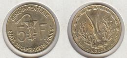 Etats De L' Afrique De L' Ouest  5 Francs 2005 - Coins
