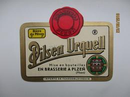 PILSNER URQUELL 3 , BEER LABEL   , 0 - Bière