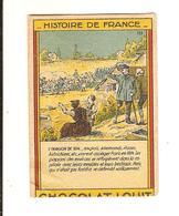 Chromo Chocolat LOUIT Histoire De France  : Invasion De 1814 - Louit