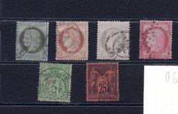 9671 Frankreich, France, Lot Gest., Mi 45-47,55,59,74 - 1949 - ... People's Republic