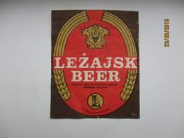 POLAND LEZAJSK     , BEER LABEL   , 0 - Bière