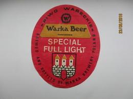 POLAND WARKA    , BEER LABEL   , 0 - Birra