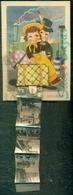 BAMBINI - BAULETTI -TRENI- CASTELLARQUATO - Cartoline