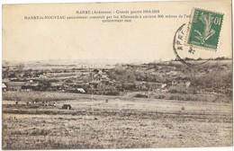 MANRE (08) Nouveau Village De Manre Le Nouveau Construit Par Les Allemands Guerre 1914-18 - Otros Municipios