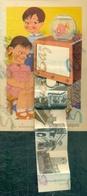 BAMBINI - BAULETTI -TELECOMUNICAZIONI-TELEVISIONE- CASTELLARQUATO - Cartoline