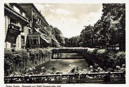 BADEN BADEN-HOTEL EUROPAISCHER HOF - Baden-Baden
