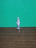 Figurine En Métal Kinder - Série Les Ecossais 1850 à 1908 - Officier Des Dragons N°1 - Finition Argent - Figurines En Métal