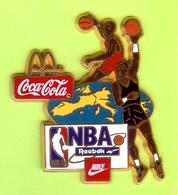 Gros Pin's Mac Do McDonald's Coca-Cola NBA Reebock Nike Basketball (Dernier) - #626 - McDonald's