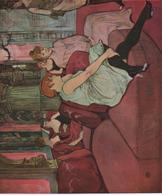 25 Cm X 21 Cm  Toulouse Lautrec  Etat TTB - Altre Collezioni
