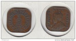 Straits Settlements 1/2 Cent 1932  KM#37 - Colonies