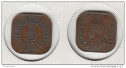 Straits Settlements 1/2 Cent 1932  KM#37 - Kolonies