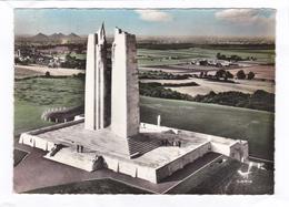 CPSM  -   EN  AVION  AU-DESSUS  DE ...  21.  VIMY  -  Le  Mémorial Canadien - France